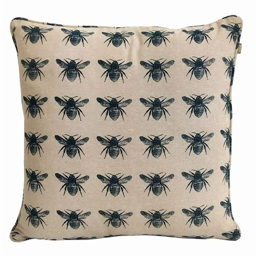 Bee Collection - Cushion - Prussian Blue